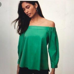 LOFT off the shoulder blouse
